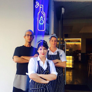 The team at Bar Brose in Sydney. Photo: Instagram