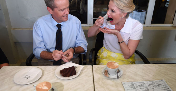 Bill and Chloe Shorten