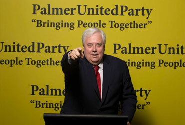 Clive Palmer has backflipped on a tilt at Senate.