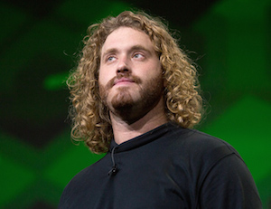 TJ Miller plays Erlich, who runs the tech incubator where the action takes place. Photo: HBO