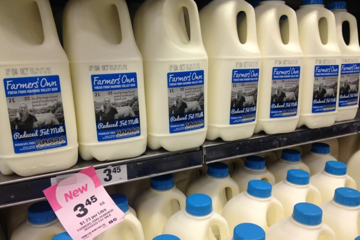 Woolies, Coles 'using tricks' to sell home brand milk | The