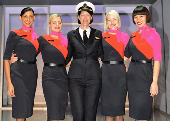 female qantas pilot