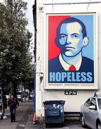 hopeless tony abbott