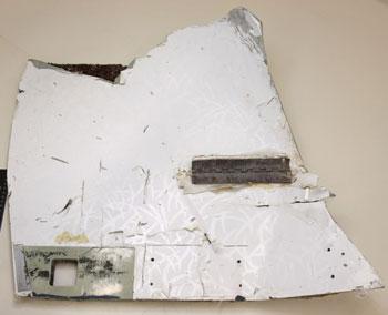 interior panel mh370