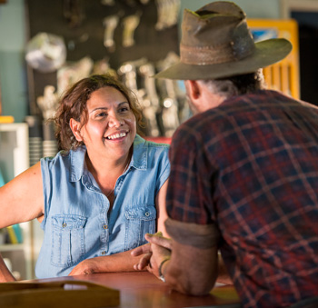 As always, Deborah Mailman is a welcome sight. Photo: Stan/Supplied
