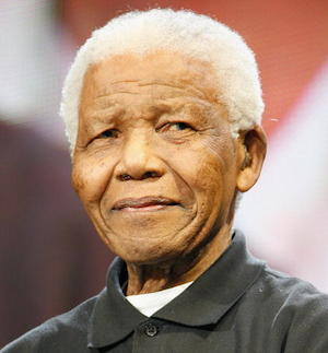 Make like Nelson Mandela and learn how to communicate with others properly. Photo: Getty
