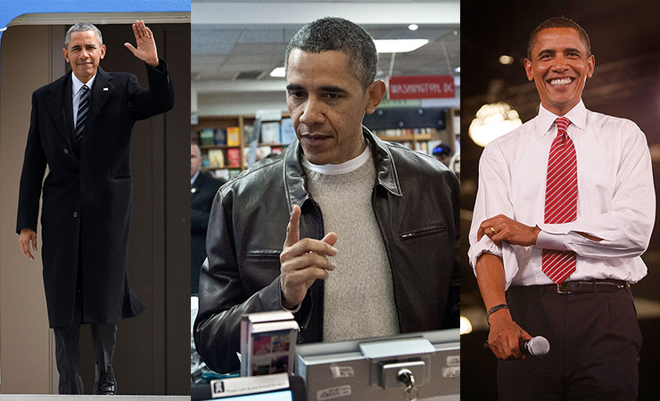 Some of Kirstie's favourite Obama looks. Photo: Getty