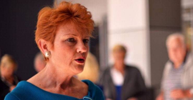 """""""Some of these journalists, I'd drown half of them,"""" Pauline Hanson."""