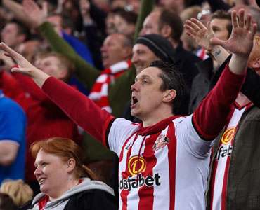 Sunderland fans are known for their passion. Photo: Getty
