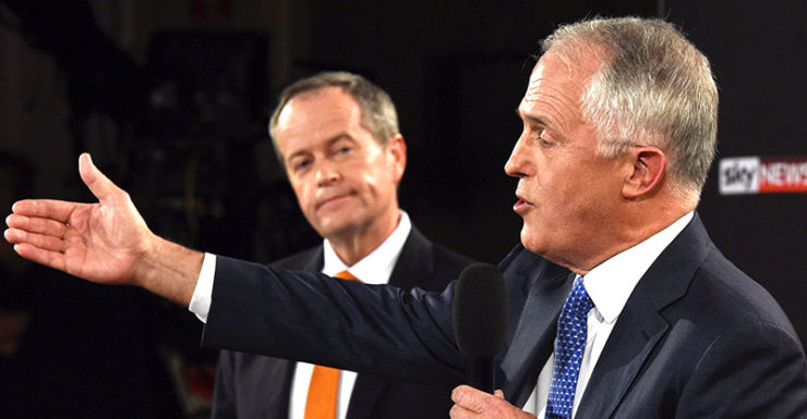 Malcolm Turnbull looks to have the election won with four days to go.