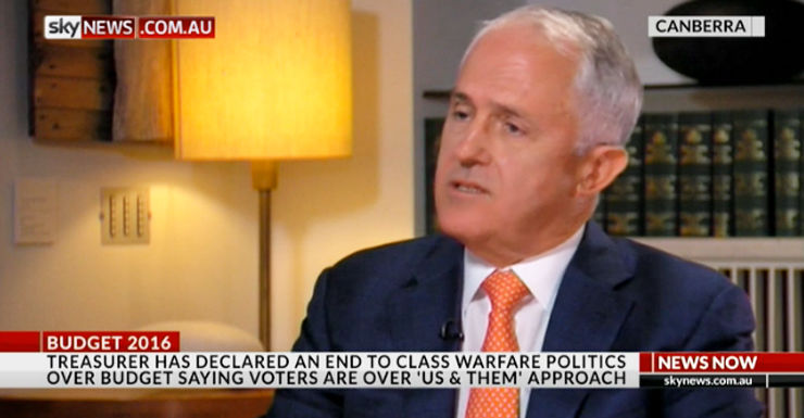 malcolm turnbull sky news