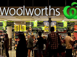 Woolworths' third quarter sales fall 0.3 per cent overall.