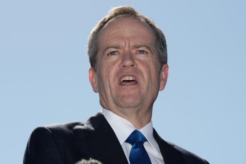 Bill Shorten will review the Coalition's super plans. AAP