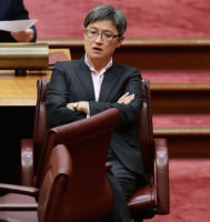 Penny Wong fears a plebiscite would unleash hate speech. Photo: Getty.