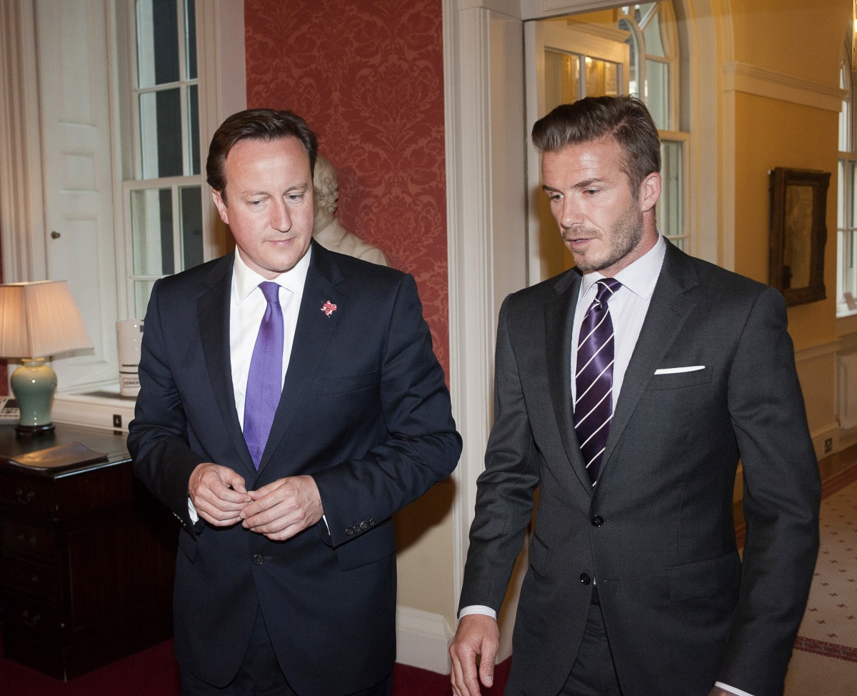 David Cameron and David Beckham make last-minute pleas to 'Remain'.