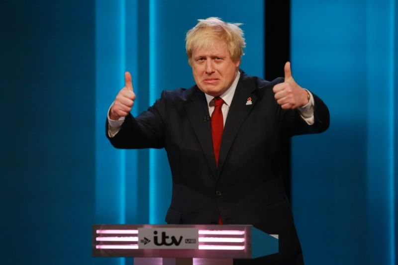 Boris Johnson argues for Britain to leave the EU.
