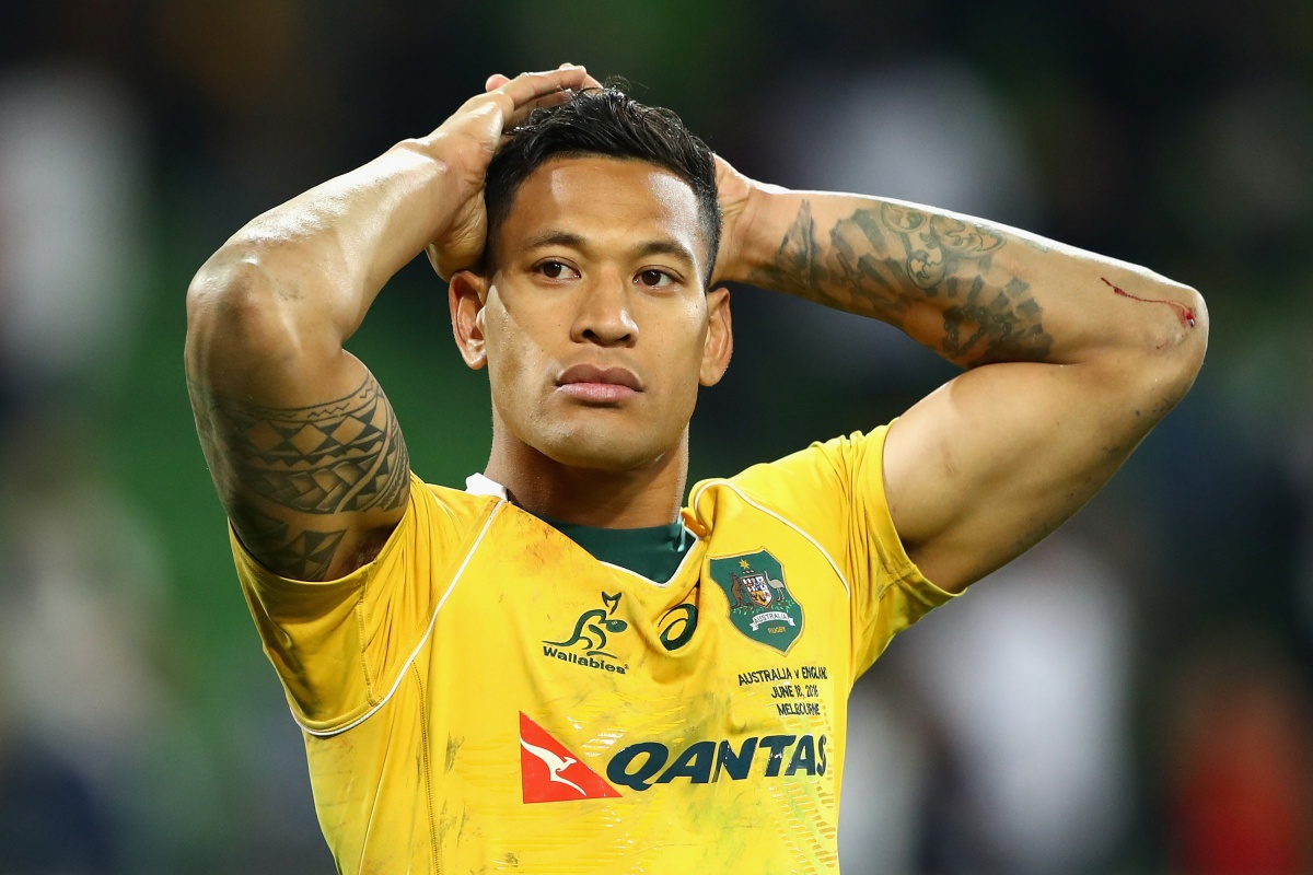 israel folau world cup wallabies