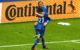 Iceland's Birkir Bjarnason and Arnor Ingvi Traustason celebrate.