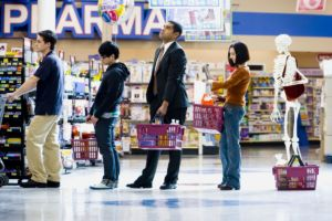 Queues are our biggest gripe when it comes to supermarket shopping, according to new research.