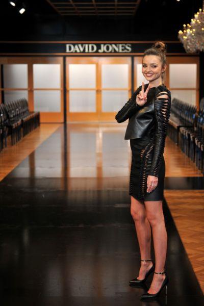 Miranda Kerr bought glamour to DJs. Photo:AAP