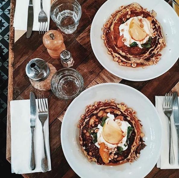 Brunch at Holybelly Cafe. Photo: Instagram