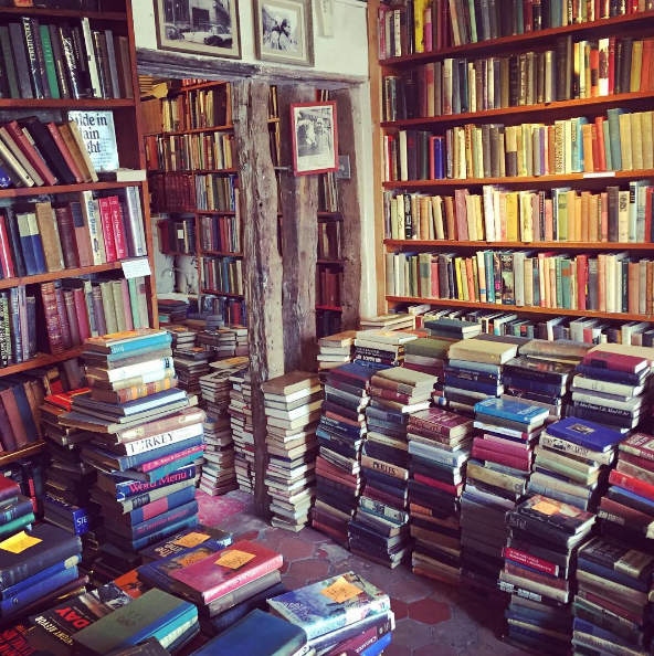 Shakespeare and co is a dreamy bookstore. Photo: Instagram