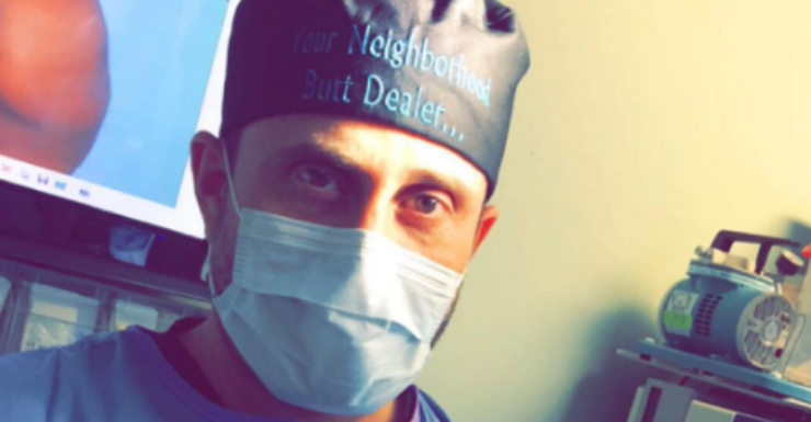 Michael Salzhauer aka Dr Miami attracts 800,000 views a day on Snapchat.