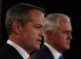 Opposition leader Bill Shorten says he will borrow more than the PM. Photo: AAP