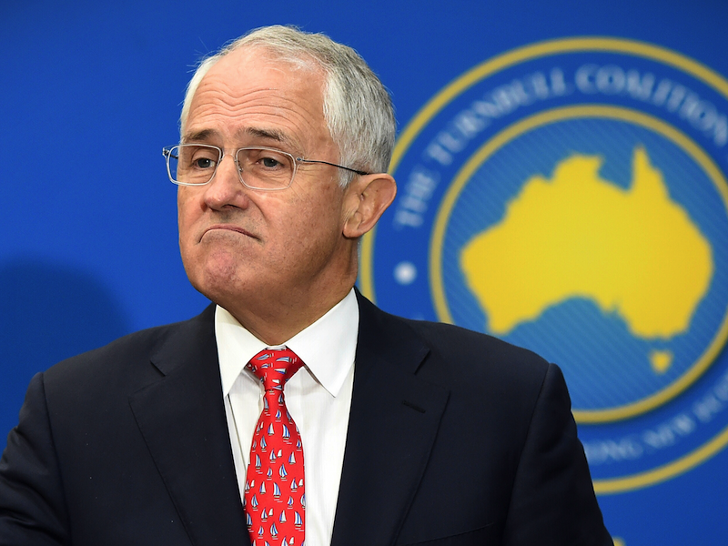 Turnbull visits Lilley AAP