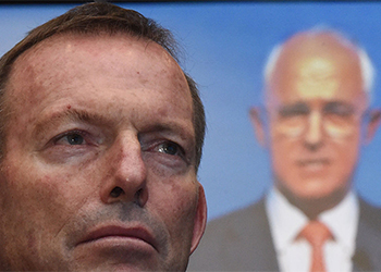 Abbott and his fellow conservatives still have a large influence on Liberal policies. Photo: Getty