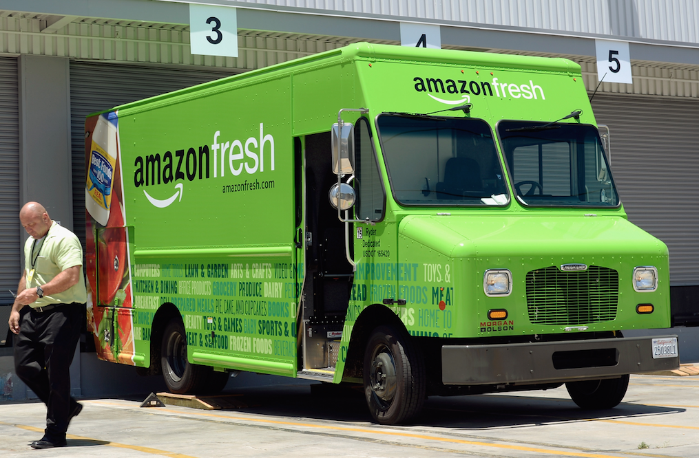 AmazonFresh Photo: Getty