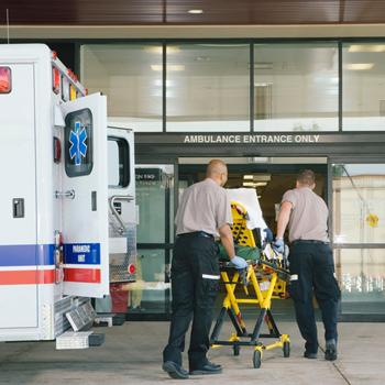 ambulance hospital