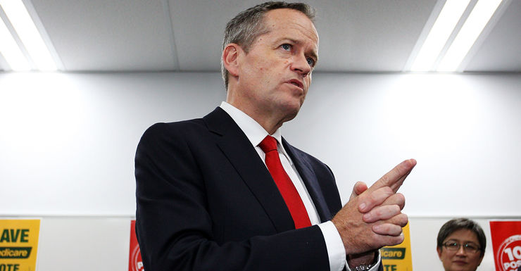 bill shorten getty