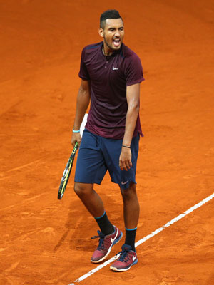 Nick Kyrgios has been in Chiller's sights. Photo: Getty