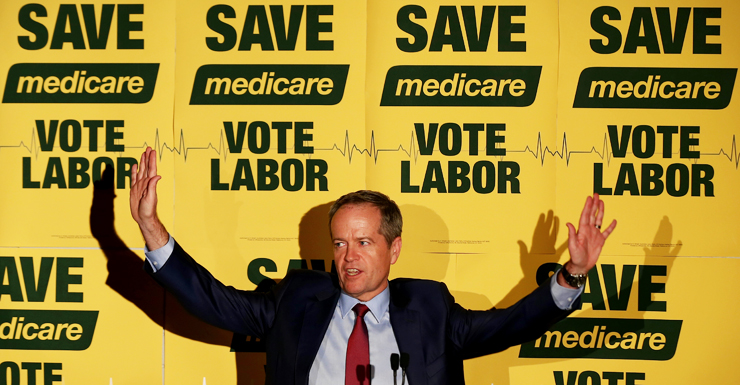 bill shorten medicare