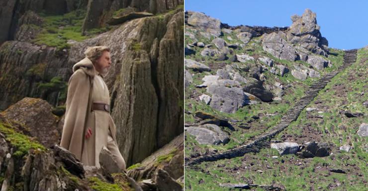 luke skywalker skellig the force awakens
