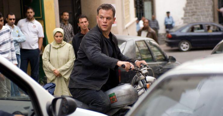 Matt Damon in the 2007 movie, The Bourne Ultimatum.