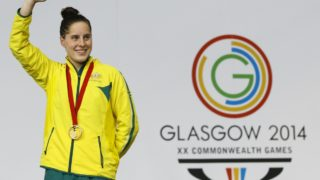 Belinda Hocking won gold at the Glasgow Commonwealth Games in 2014.