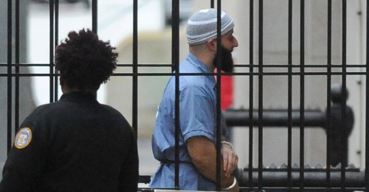 Adnan Syed who has been granted a new trial.
