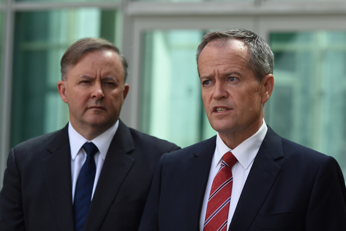 Shorten and Albanese have reportedly been at odds over leadership