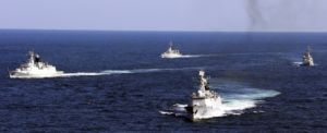 China has laid claim to a swathe of shoals and islands which represent about 90 per cent of the South China Sea.
