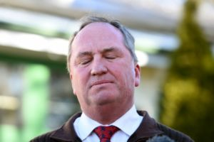 Barnaby Joyce says the coalition will suffer a swing.