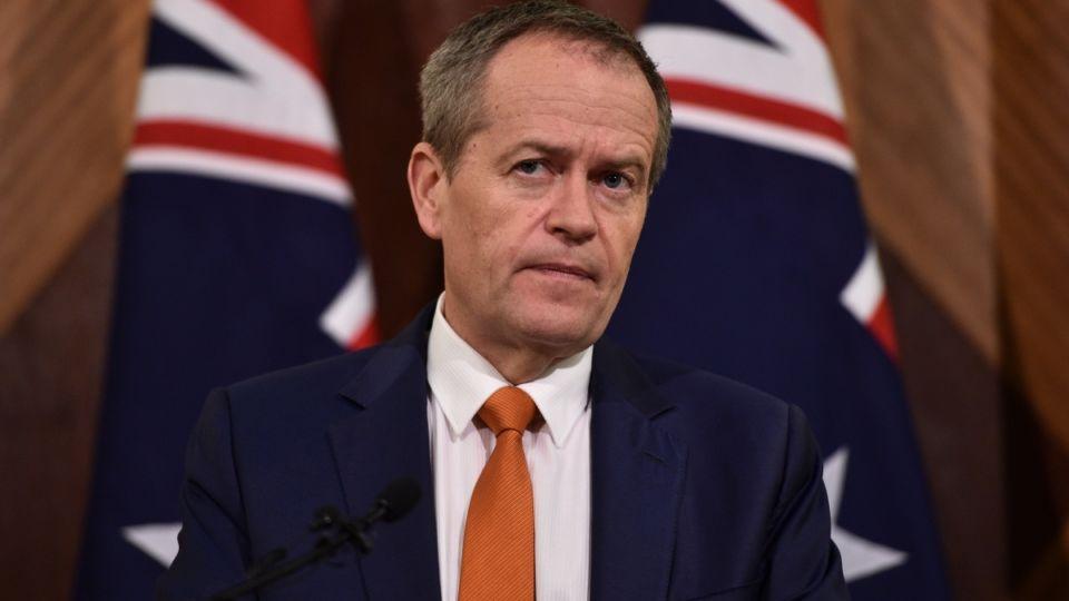 bill shorten concedes election