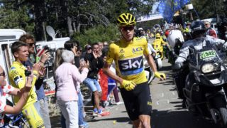 Chris Froome had to hit the road.