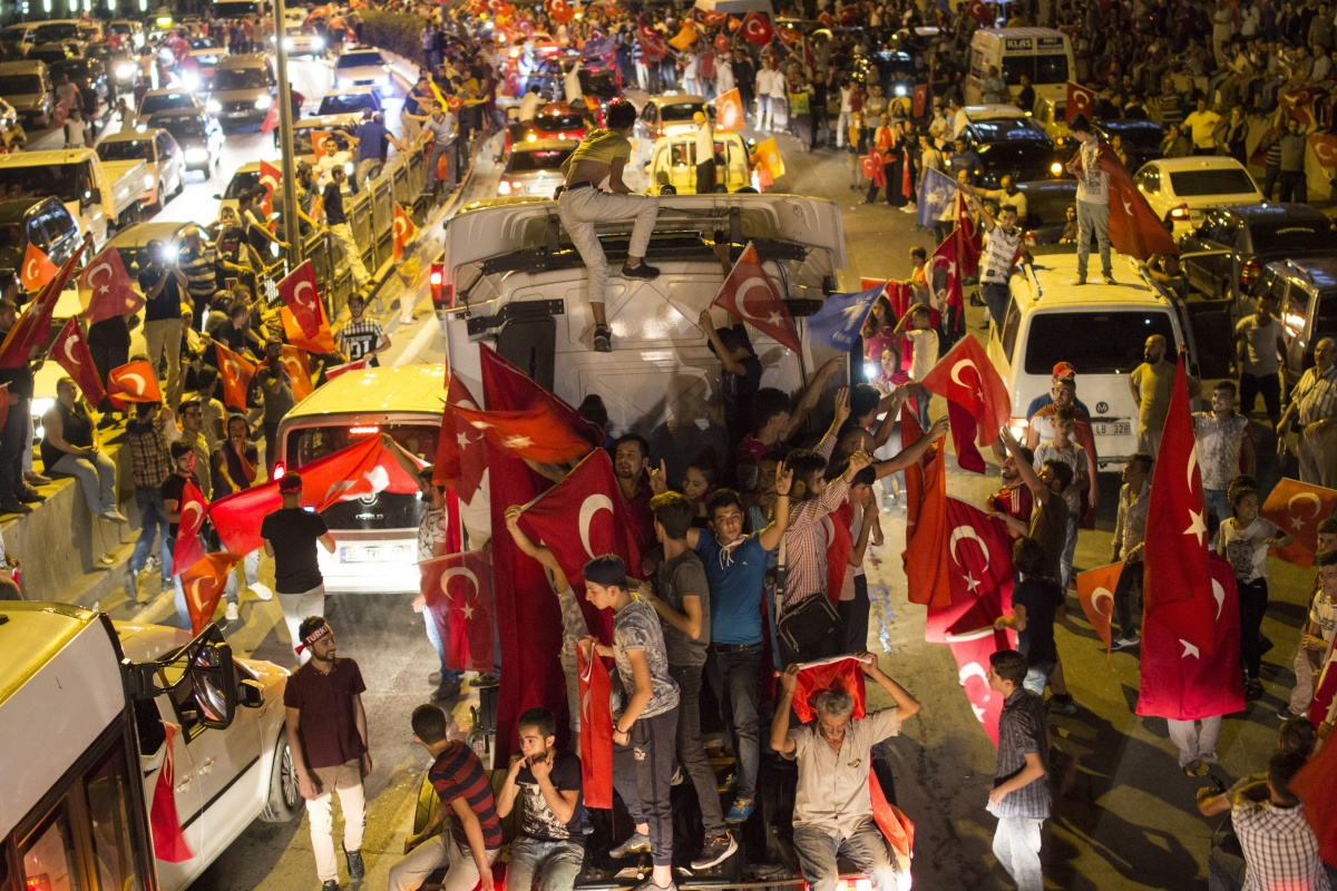 turkey coup staged