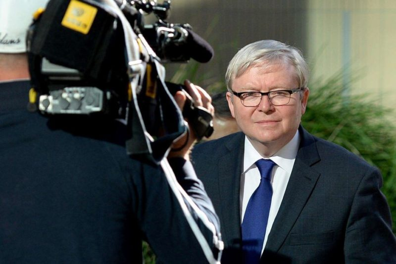 Former prime minister Kevin Rudd could face competition from former NZ leader Helen Clark.