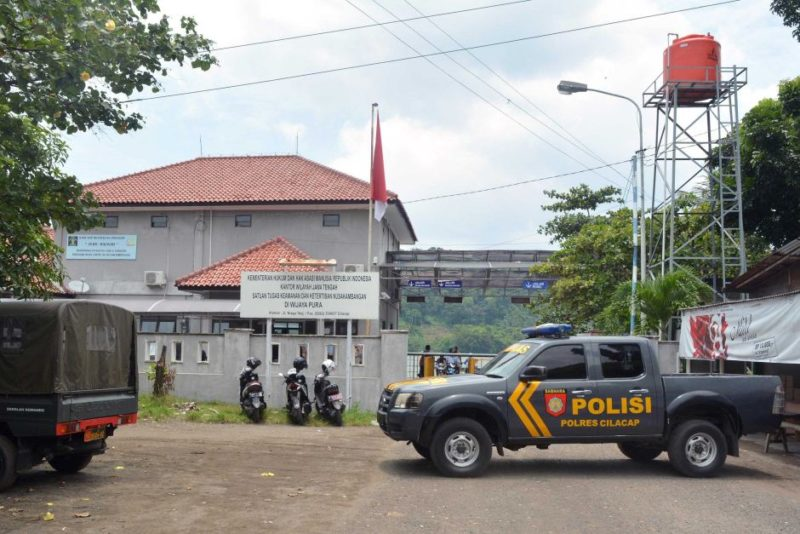 Authorities are making preparations on Nusakambangan island, where Indonesia executes convicts.