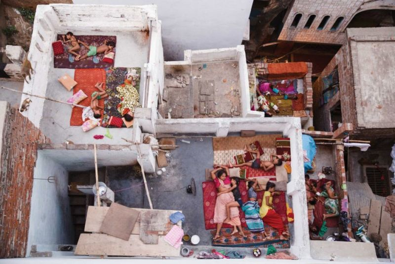 People second place — Rooftop Dreams, Varanasi