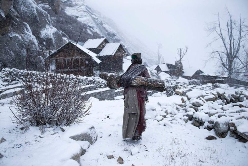People third place — Remote life at -21 degrees
