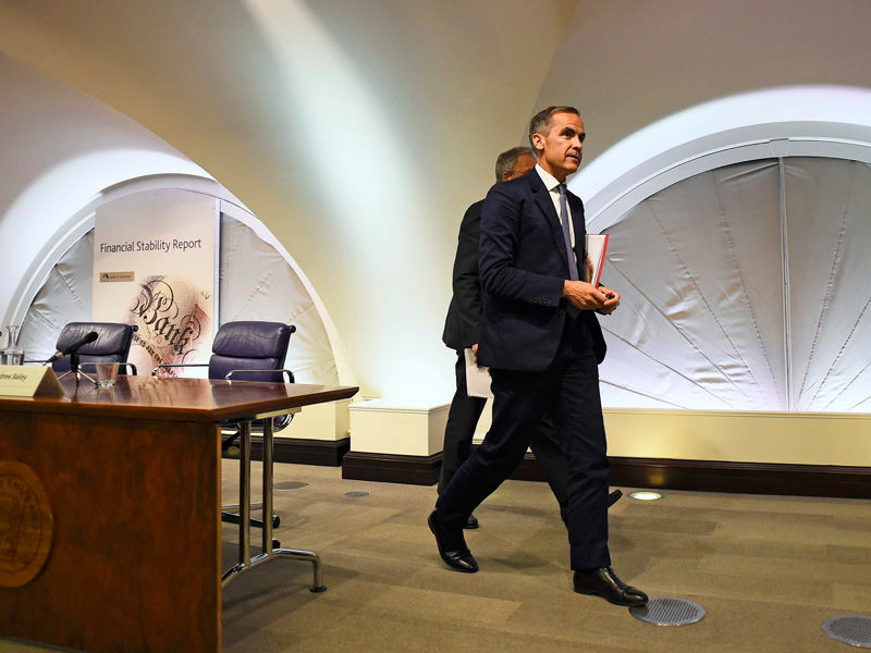 Bank od England Governor Mark Carney has predicted difficulties. Photo:AAP